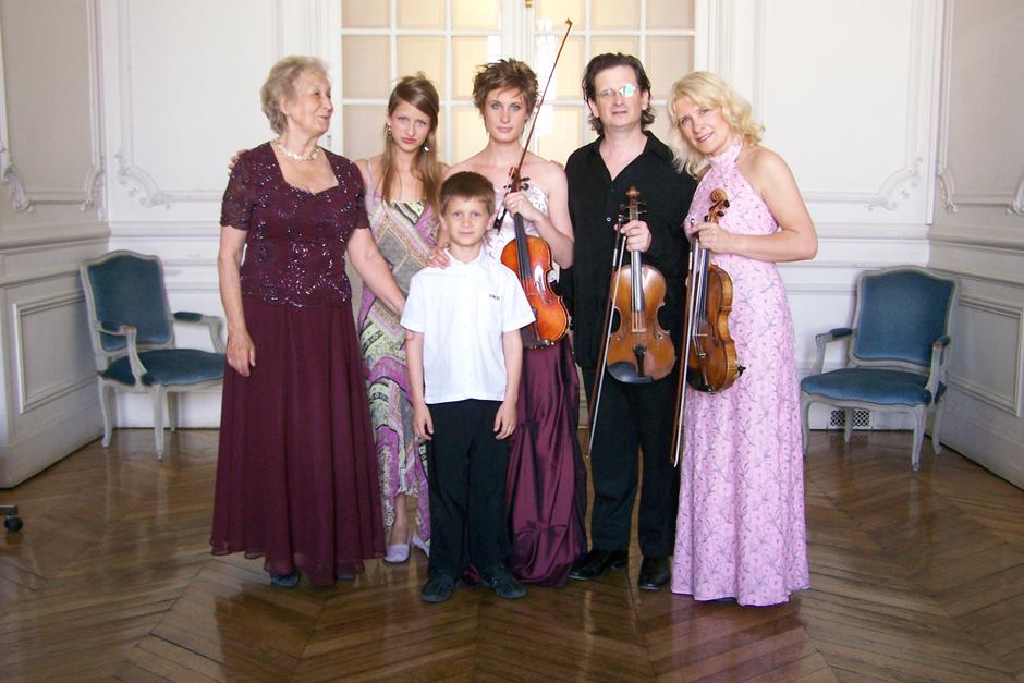 Concert familial à Versailles
