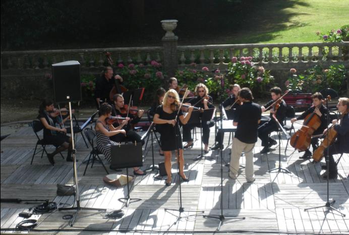 Concert en plein air - Beata Halska
